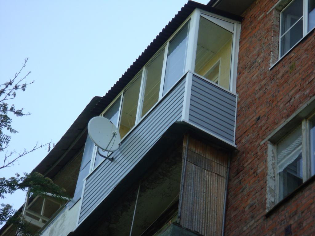 Остекление балконов и лоджий - пластиковые окна, теплицы, ко.